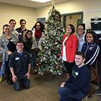 Quinnipiac University students give back to the community by volunteering at New Haven homeless shelter